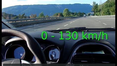 Fiat Punto EVO Accelerazione 0   130 km/h motore Diesel