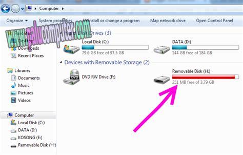 Lu Belajar Usb cara memindahkan data ke flash disk di laptop belajar komputer dasar palu