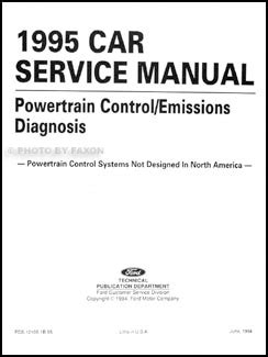 free 1995 ford escort repair manual