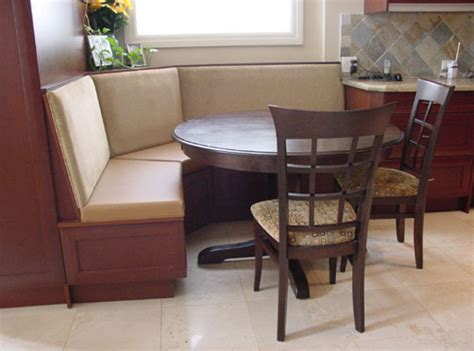 Custom Banquette Seating Residential by Custom Banquette Seating