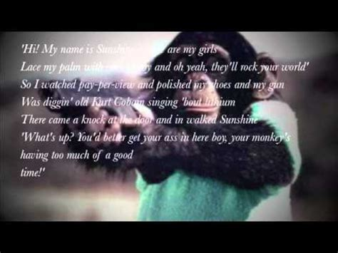 my lyrics williams robbie williams me and my monkey lyrics