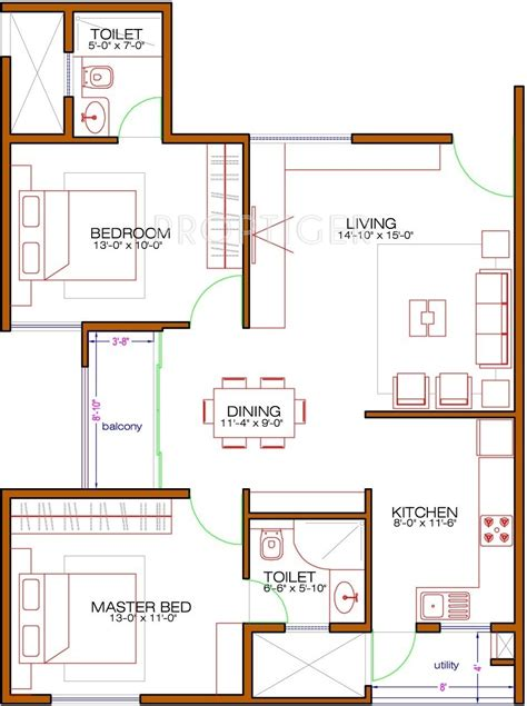 laurel floor plan 1060 sq ft 2 bhk 2t apartment for sale in nd laurel