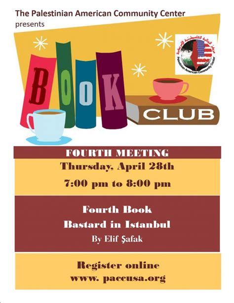 Book Club Flyer Template Book Club Flyer Etame Mibawa Co