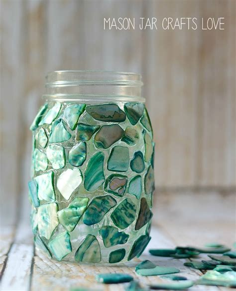 crafts with jars mosaic jar jar crafts