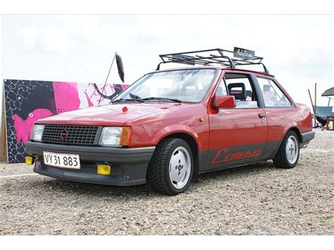 Opel Tr by Opel Corsa Tr 1987 F 248 Rst Og Femmest Dejli