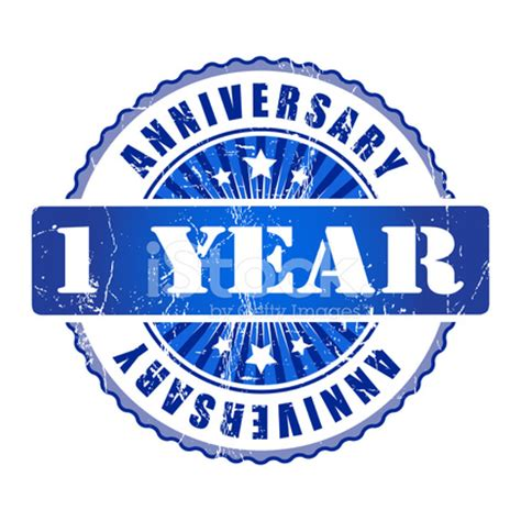 1 year anniversary stock vector freeimages.com