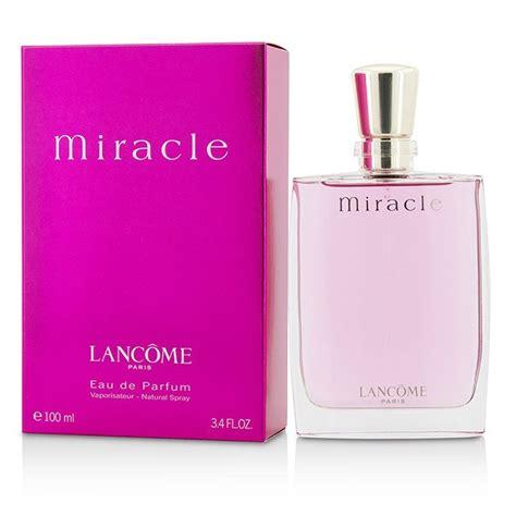Parfum Lancom Miracle Edp 100ml Original lancome miracle edp spray 100ml s perfume ebay