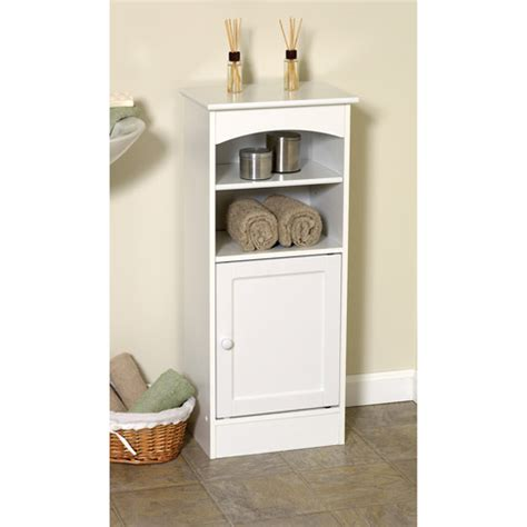 Bathroom Cupboard Storage Wood Bathroom Storage Cabinet Walmart