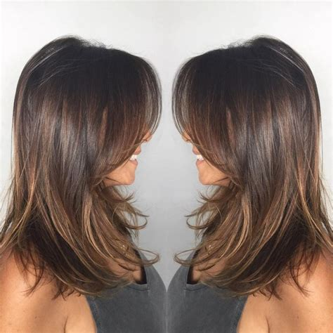 hairlights for black hair and layered for ladies over 50 22 popular medium hairstyles for women 2017 shoulder