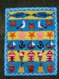 rug kits for beginners uk beside the seaside latch hook rug kit