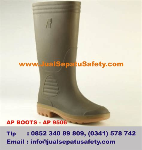 Sepatu Boot Ap Safety pabrik produsen ap boots terlaris dan terbaik di indonesia