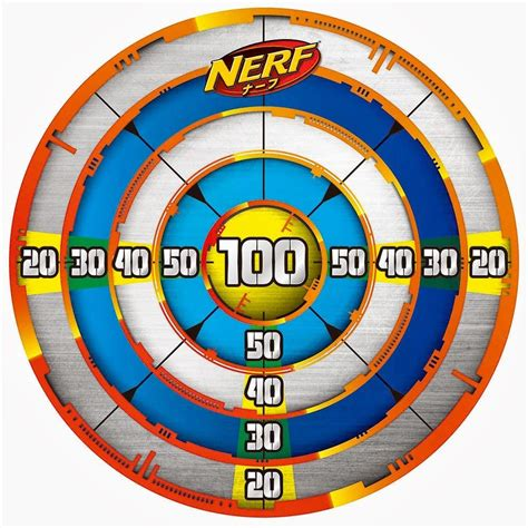 Printable Targets Nerf | nerf target for my sons pinterest nerf nerf party