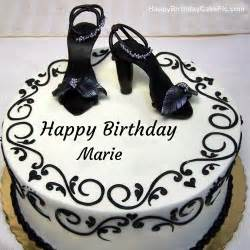 fashion happy birthday cake for marie
