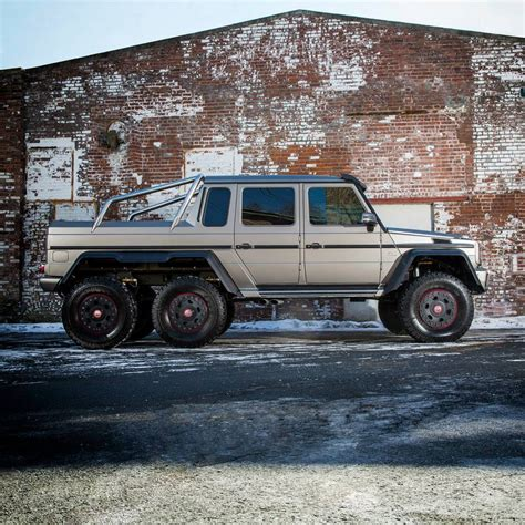 mercedes benz 6x6 mercedes benz brings g63 amg 6x6 to the northeast