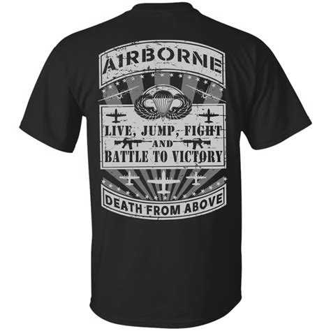 Tshrit From Above airborne t shirt from above