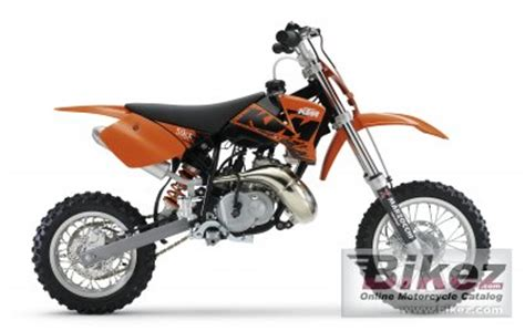 Ktm 50 Sx 2007 2007 Ktm 50 Sx Specifications And Pictures