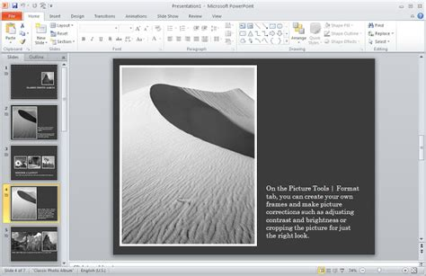 How To Make Colored Powerpoint In Black And White Everything About Powerpoint Wallpapers Photo Album Powerpoint Template