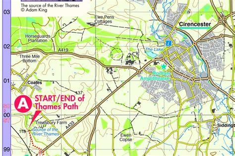 river thames map distances thames path harvey splashmap splashmapssplashmaps