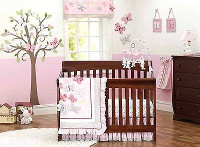 butterfly nursery bedding set baby nursery crib bedding set cot three dimensional butterfly 8pcs tour de lit in bedding sets