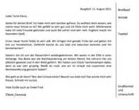 Halbformeller Brief Beispiel Erz 228 Hlkern Ausgestalten Hilfreiche Tipps Und Tricks