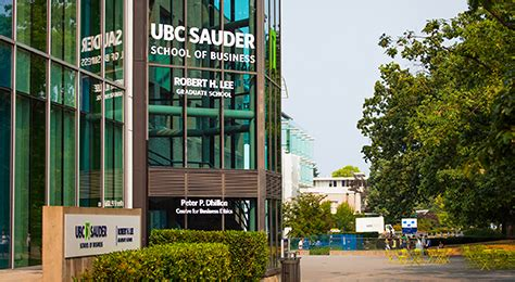 Ubc Mba Industry Project by Ubc Ranked In Canada For Business And Management