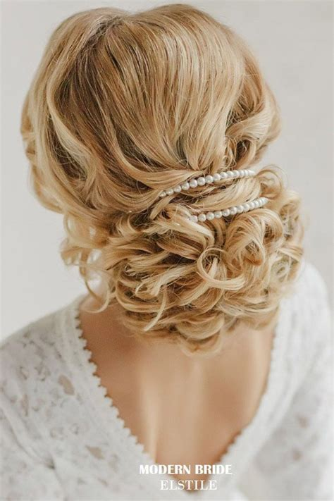 Wedding Hairstyles Pinned Up by 23 Glamorous Bridal Hairstyles With Flowers Pretty Designs