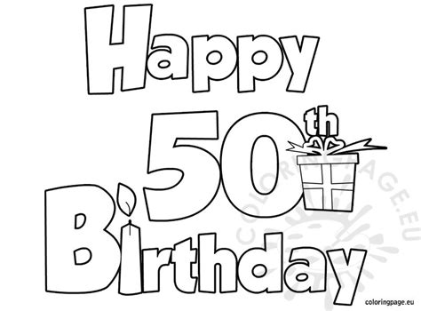 coloring book coloring book 50 unique coloring pages that are easy and relaxing to color for books happy 50 birthday coloring page