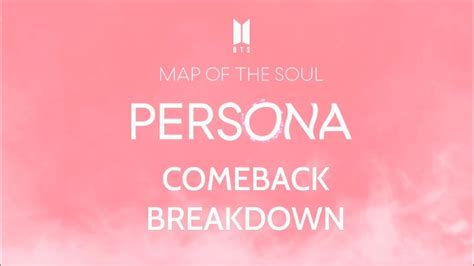 bts map   soul persona persona breakdown