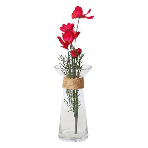 floreros s a florero de vidrio redondo floreros