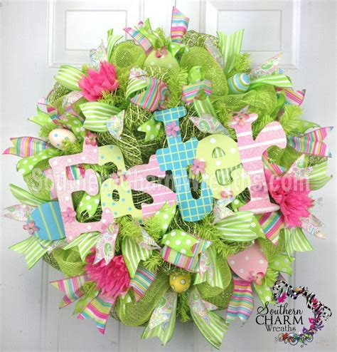 how to make a spring wreath 15 diy wreath ideas for easter pretty designs