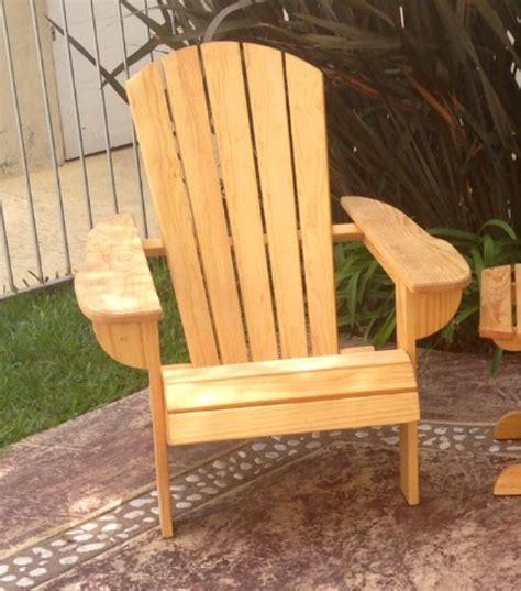 silla adirondack silla adirondack madera de pino surf descanso playa jardin