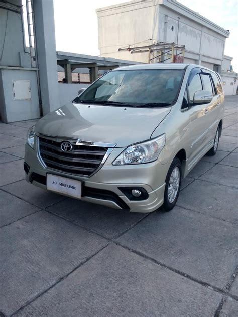 Mobil Toyota Kijang Innova 2014 toyota kijang innova 2 0 g luxury 2014 silver mobilbekas