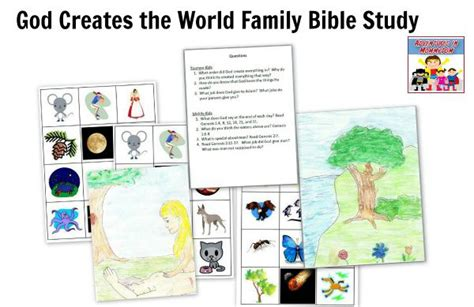 god of creation bible study book a study of genesis 1 11 books creation story activities