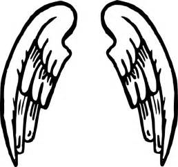 wings of coloring pages wings coloring pages clipart best
