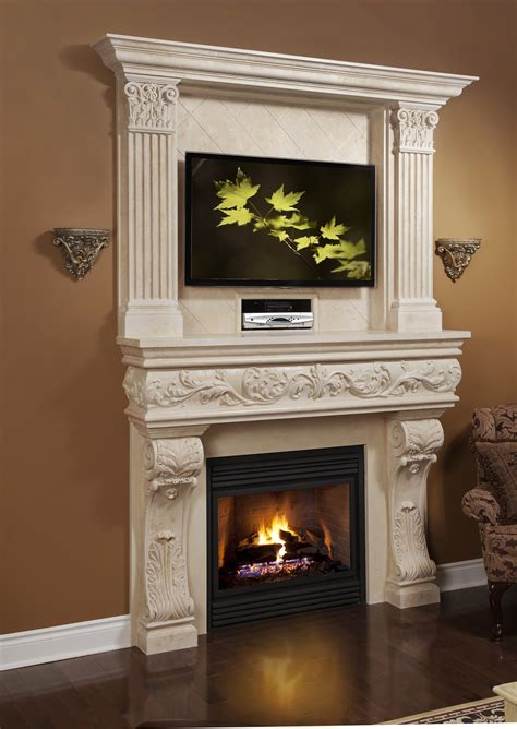 top trends in fireplace mantels