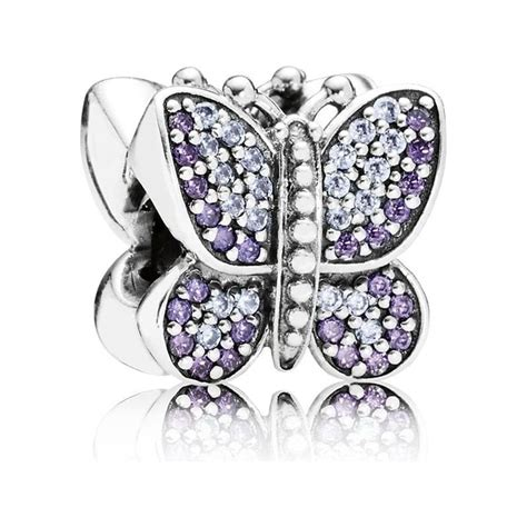 pandora sparkling butterfly charm 791257acz from gift and