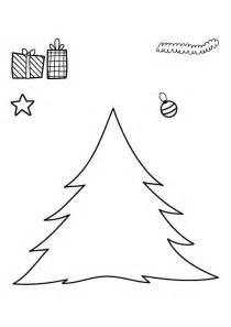 kostenlose malvorlage weihnachten weihnachtsbaum