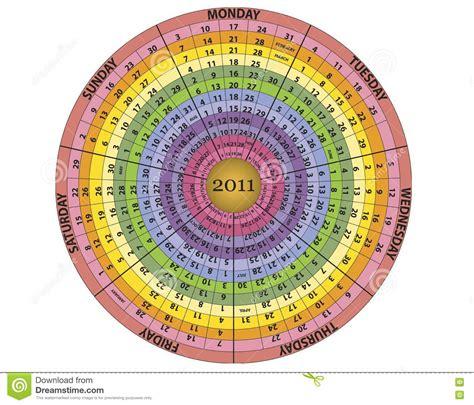 year  calendar stock vector illustration   eps