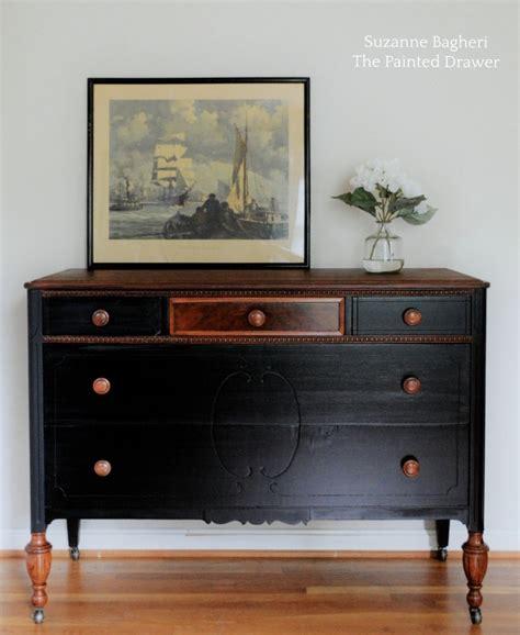 antique black walnut dresser dresser transformation using antique walnut l black