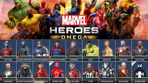 max y los superhroes todos los superh 201 roes y trajes de la beta marvel heroes omega youtube