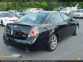 2006 Nissan Altima 3 5 Se R 2006 Nissan Altima 3 5 Se R Black Charcoal Photo