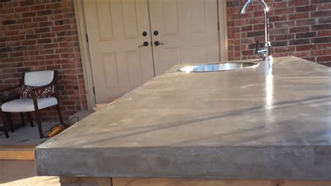 Concrete Countertop Finishing Techniques by Brilliant Diy Concrete Countertops Are Easier Than You Think