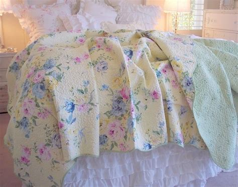 Summer Quilts King by Summer Bedding Cottage Yellow Pink Roses Blue