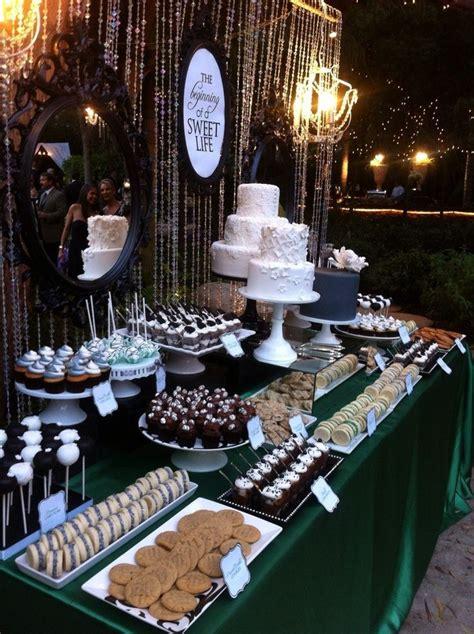 25 best ideas about wedding dessert tables on wedding dessert buffet dessert bar