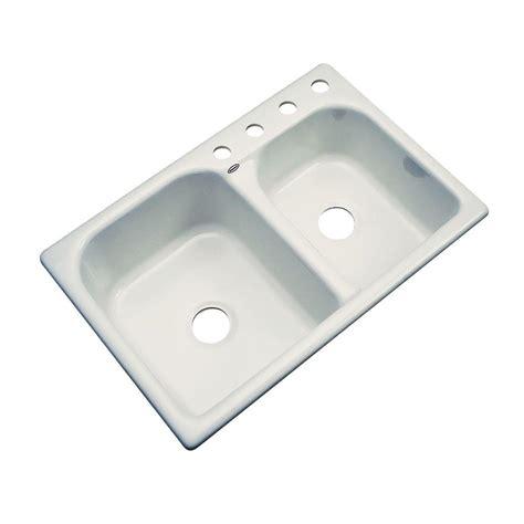 thermocast kitchen sinks thermocast cambridge undermount acrylic 33 in 0