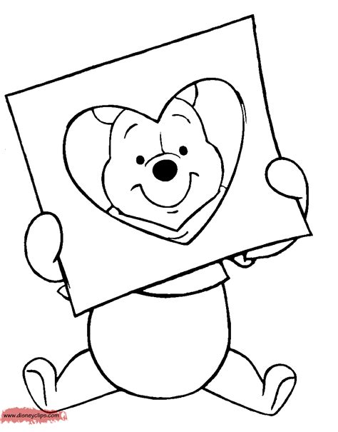 disney valentine s day printable coloring pages disney