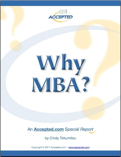 Why To Get A Mba by Why Mba