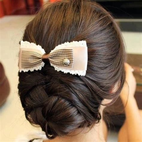 picture of waitress hair blonde bow braids cool image 710678 on favim com