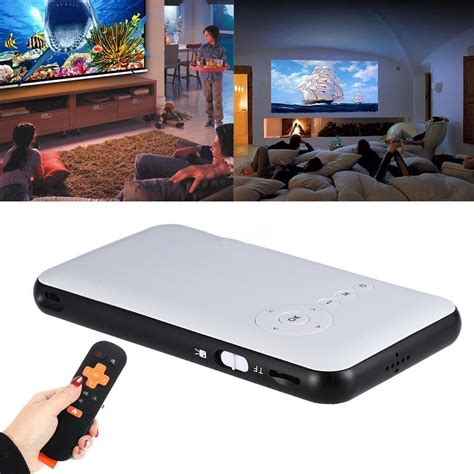 mini wifi android android 4 4 mini wifi bluetooth dlp home theater projector