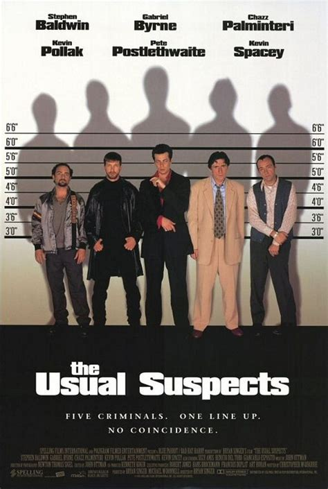 The Usual Suspects 1995 Film 21 The Usual Suspects
